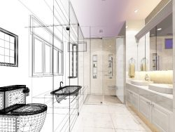 bathroom floorplan design